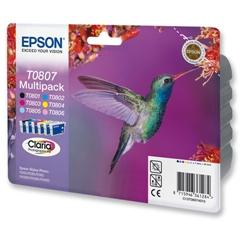 Epson T0807 Pack 6