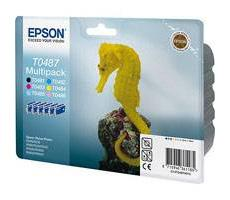 Epson T0487 Pack 6