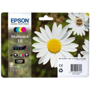 Epson 18 Pack 4 Couleurs