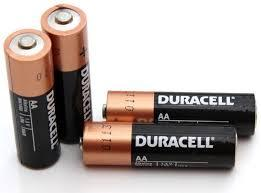 4 Piles AA DURACELL