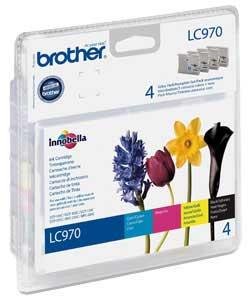 Brother LC970 Pack 4
