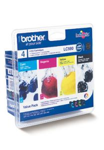 Brother LC980 Pack 4