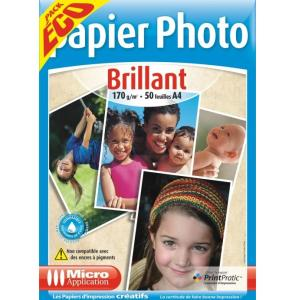 PAPIER PHOTO A4 PACK ECO
